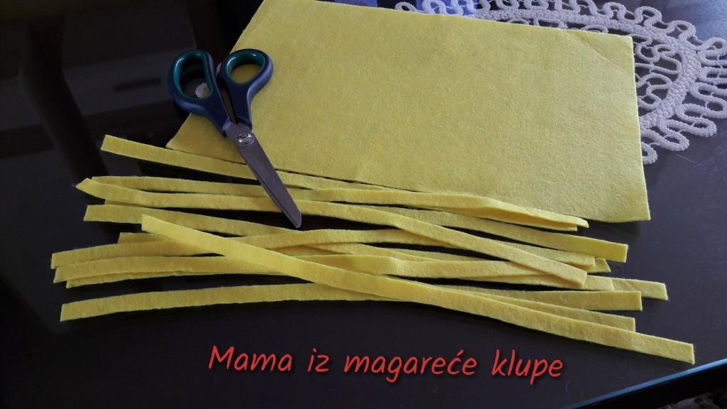 špagete i testenina od flisa